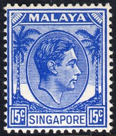 Singapore 1948 P. 14 15c SG8 - Unmounted Mint - Singapore (...-1959)