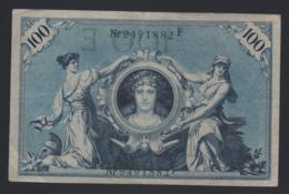 Banconota Germania 100 Mark 1908 - 100 Mark