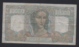 Banconota Francia 1000 Francs 3-12-1948 - 1871-1952 Antichi Franchi Circolanti Nel XX Secolo