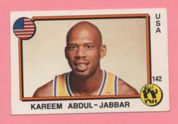 Figurina Super Sport 1988/89 - Kareem Abdul - Jabbar E Andrade - Trading Cards