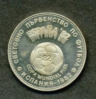 Münzen - Bulgarien 2 Lewa, 1980  1982 FIFA World Cup, Spain - Bulgarien