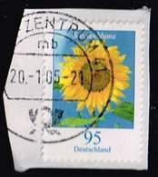 Bund 2005, Michel# 2434 R O Sonnenblume - [7] République Fédérale