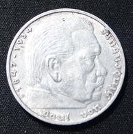 5 REICHSMARK   1934   SILVER  2 SCANS - [ 4] 1933-1945: Derde Rijk