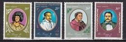 POLYNÉSIE -  1976 - Série 4 Timbres Neufs ** - MNH -   Poste Aérienne N° YT 106 à 109 - Unused Stamps