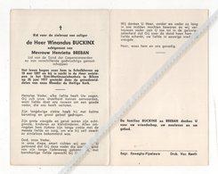 WINANDUS BUCKINX ° SCHALKHOVEN 1897 + BILZEN 1977 / HENRIETTE BREBAN - Devotion Images