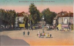 MONTAUBAN - Le Rond Point Et Avenue De Paris - Montauban