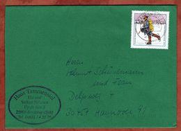 Brief, Tag Der Briefmarke, Kampen Nach Hannover 1994 (75222) - BRD