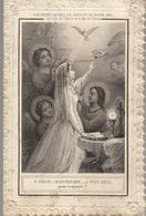"""BELLE  IMAGE  PIEUSE  DOUBLE """" O JESUS....MAINTENANT.....A VOUS SEUL POUR TOUJOURS... - Devotion Images"""