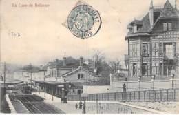 28 - MAINTENON ( Quartier De BELLEVUE ) La GARE - CPA Précurseur - Eure Et Loir - Maintenon