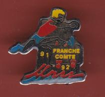 59295-pin's.athletisme.Franche Comté.UNSS.. - Athlétisme