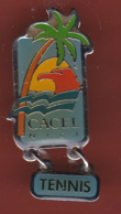59298-pin's.Tennis.Le Cacel était Un Club Français De Water-polo Basé à Nice. - Tennis