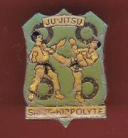 59299-pin's.jujitsu.arts Martiaux.Saint Hippolyte - Judo