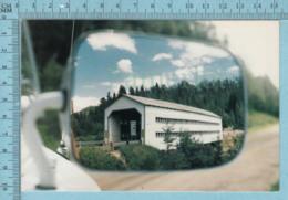 Pont Couvert - Pont Ducharme Et Thiffault Vue D'un Miroir D'auto, à St-Jean-Bosco - Autres