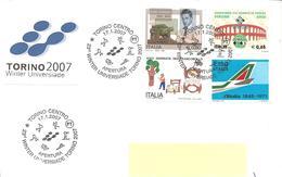 ITALIA - 2007 TORINO  Apertura 23° Universiade Invernale - Inverno