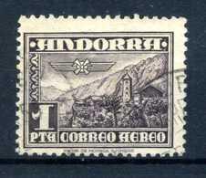 1951 ANDORRA SPAGNOLA SET PA USATO A1 - Oblitérés