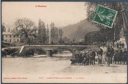 Labastide Sur L'Hers , Le Pont , Animé - Autres Communes