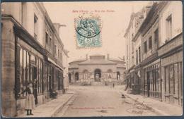 Sées , Rue Des Halles , Animé - Sees