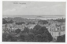 BLAYE - VUE GENERALE - CPA VOYAGEE - Blaye