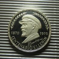 Equatorial Guinea 75 Pesetas 1970 Silver Proof - Guinea Ecuatorial