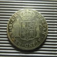 Bolivia 4 Reales 1774 JR Silver - Bolivia