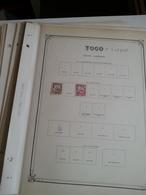 Lot N° 601 TOGO + SOUDAN  Collection Sur Pages D'albums Neufs * Timbres Collés A 50 % - Collections (en Albums)