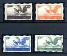 1946 LIBANO SET MNH ** POSTA AEREA 7/10 - Libano