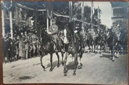 Lot De 6 Carte Photo PARIS Défilé 14 Juillet 1919 Fete De La Victoire Marechal FOCH Et JOFFRE Americains Italiens - Postcards