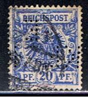 A2 668 // YVERT 48 (PERFIN: EKL.)// 1889-00 - Oblitérés