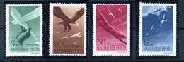 1943 UNGHERIA SET * PA 53/56 - Luftpost