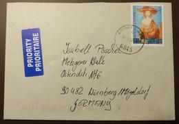 Brief Österreich   2001    2355  Moderne Kunst  #cover 4780 - 1945-.... 2. Republik