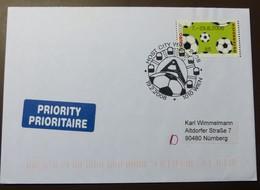 Brief Österreich   2008   ATM  Fußball   #cover 4782 - 1945-.... 2. Republik