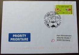 Brief Österreich   2008   ATM  Fußball   #cover 4783 - 1945-.... 2. Republik