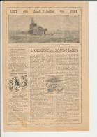 Origine Du Sous-marin Invention Chasseur De Sous-marins Royal Navy  226CH6 - Unclassified