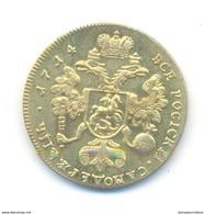 Russia 2 Ducats 1714 COPY - Rusland
