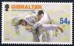 Gibraltar 2019 MNH International Island Games With Judo - Judo