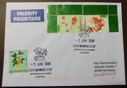 Brief Österreich   2008   UEFA Fußball   #cover 4786 - 1945-.... 2. Republik