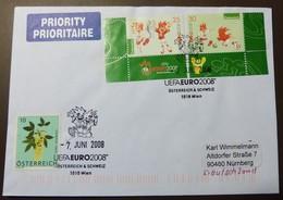 Brief Österreich   2008   UEFA Fußball   #cover 4787 - 1945-.... 2. Republik