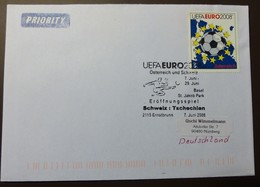 Brief Österreich   2008   UEFA Fußball   #cover 4788 - 1945-.... 2. Republik