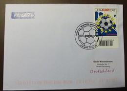 Brief Österreich   2008   UEFA Fußball   #cover 4789 - 1945-.... 2. Republik