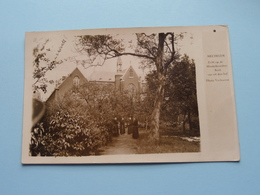 Zicht Op De MINDERBROEDERS KERK Van Uit Den Hof ( Photo Verhoeven / ESCAMATOR ) Anno 19?? ( Zie / Voir Photo ) ! - Mechelen