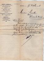 VP15.216 - Lettre - Société Générale - Agence D'AUTUN - Bank & Insurance