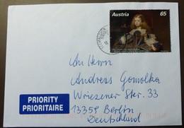 Brief Österreich   2009     Michel Nr: 2837   #cover 4796 - 1945-.... 2. Republik