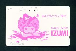 JAPAN - Magnetic Phonecard As Scan (110-46) - Japan