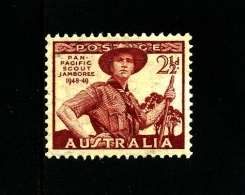 AUSTRALIA - 1948  2 1/2 D  SCOUT  MINT NH  SG 227 - Nuovi