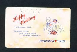 JAPAN - Magnetic Phonecard As Scan (110-159) - Japan