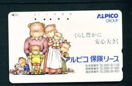 JAPAN - Magnetic Phonecard As Scan (270-01184) - Japan