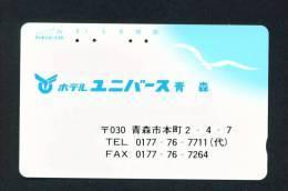 JAPAN - Used Magnetic Phonecard As Scan (110-18) - Japan