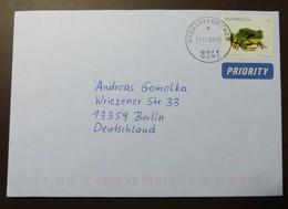 Brief Österreich   2008  Tierschutz  Laubfrosch  #cover 4800 - 1945-.... 2. Republik