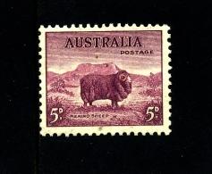 AUSTRALIA - 1938  DEFINITIVE  5d  PERF. 13 1/2 X 14  MINT NH  SG 171 - Nuovi