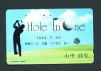 JAPAN  -  Magnetic Phonecard As Scan (110-102) - Japan